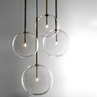 Modern Clear Glass Orb Pendant Lighting 12308 : Browse ...
