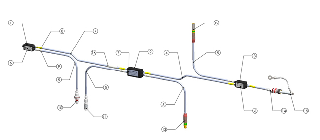 MIL-STD-1553 Data Bus Harness and Cable Assemblies