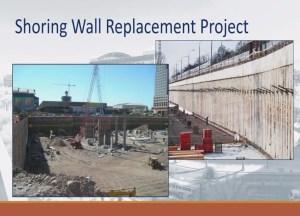 shoring walls