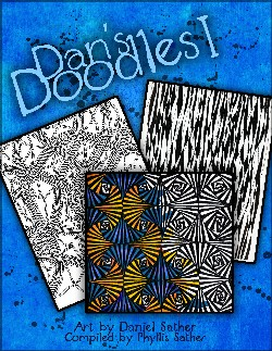 Dan's Doodles a coloring book for all ages.