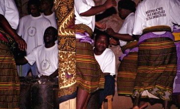 Performers carried out the traditional Ngoma drumming and dancing at the Honey Badger Cultural Centre, which also offers visitors traditional dances from a variety of local tribes including the Wachagga, Wapare and Maasai and a traditional Chagga meal.