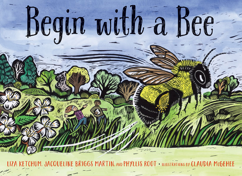 Begin with a Bee book cover