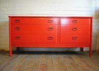 Vintage Mid Century Six Drawer Dresser | Phylum Furniture