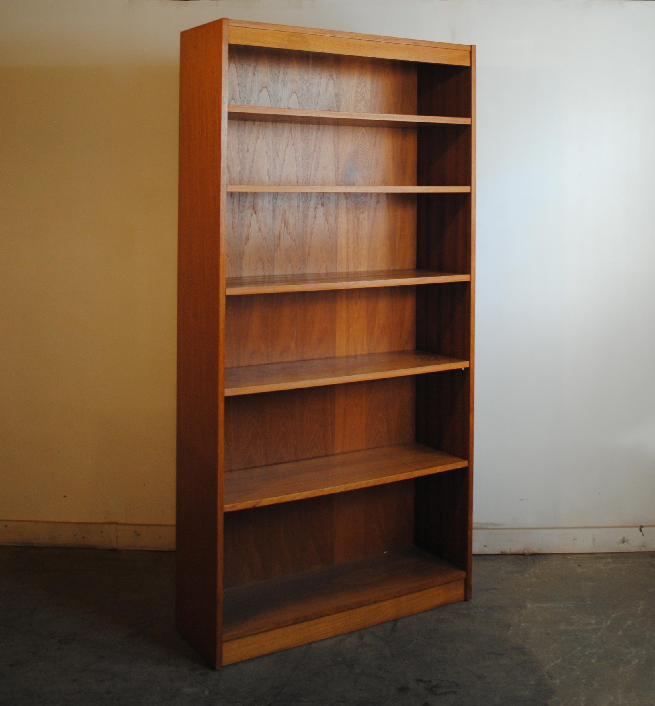 Danish Modern Teak Bookcase  Phylum Furniture