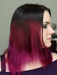 Pravana Wild Orchid Hair - My latest hair style and color