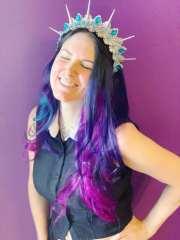 purple gothic dream hair - pravana