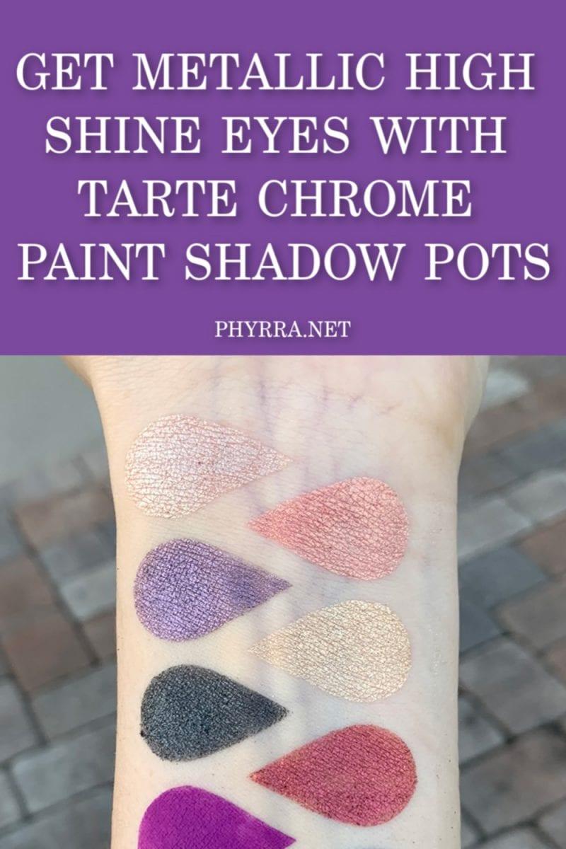 Tarte Wild At Heart : tarte, heart, Tarte, Chrome, Paint, Shadow, High-Shine, Metallic
