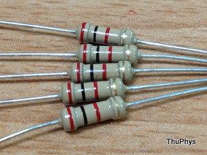基本練習-關於電阻