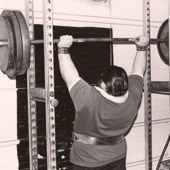 Ditillo lifting weights