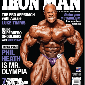 Ironman 2013 Front Cover with Phil Heath