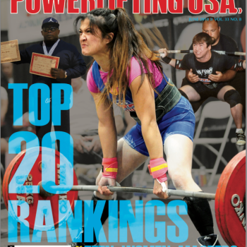 2010 Powerlifting USA Cover