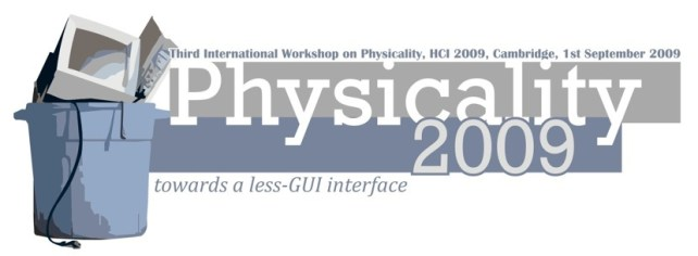 Physicality 2009 workshop logo