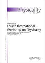 Physicality 2012 Proceedings cover