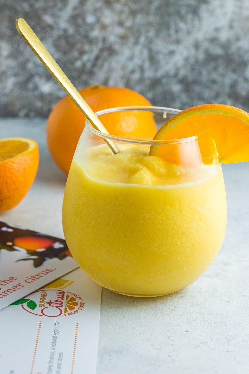 paleo orange creamsicle slushie