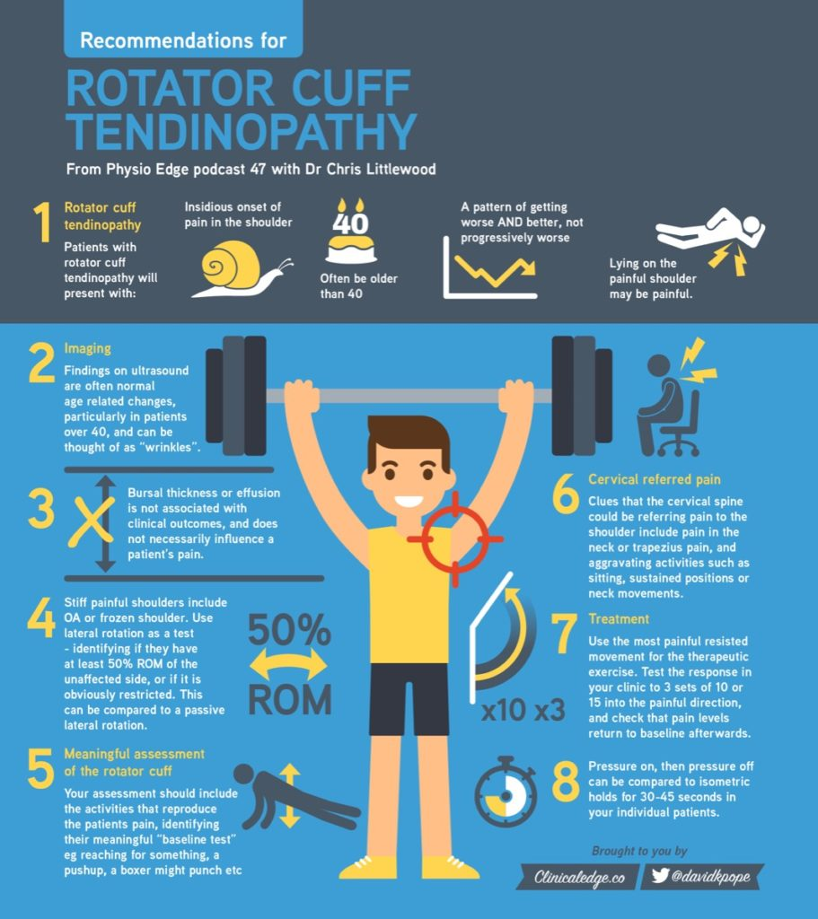 Rotator Cuff Tendinopathy  Infographic  PHYSICAL THERAPY WEB