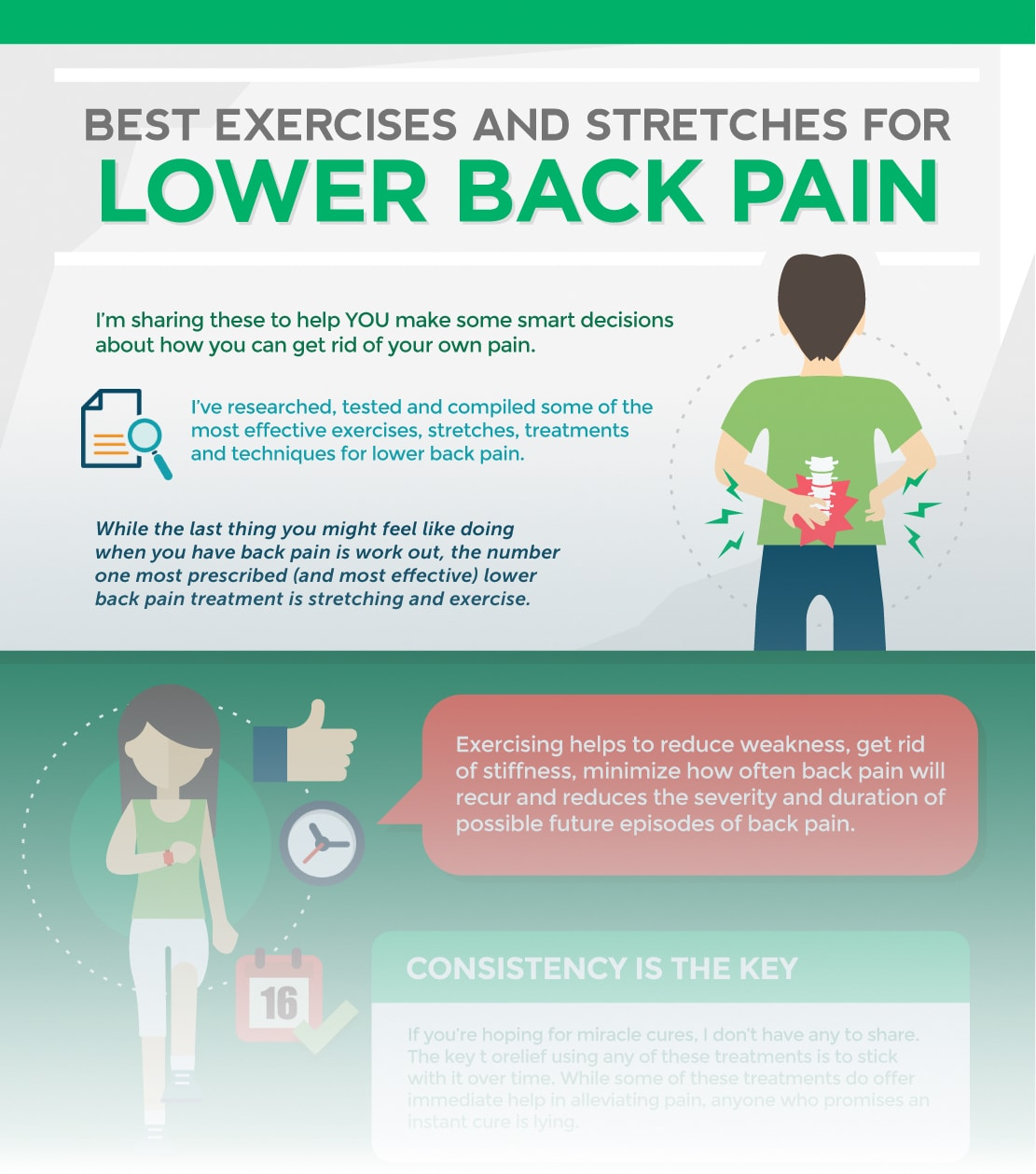 9 Best Exercises For Lower Back Pain
