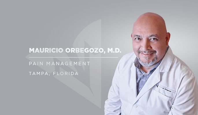 Dr. Mauricio Orbegozo, pain management specialist in Tampa and Westchase