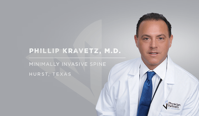 Dr. Kravetz, laser spine surgeon in Texas