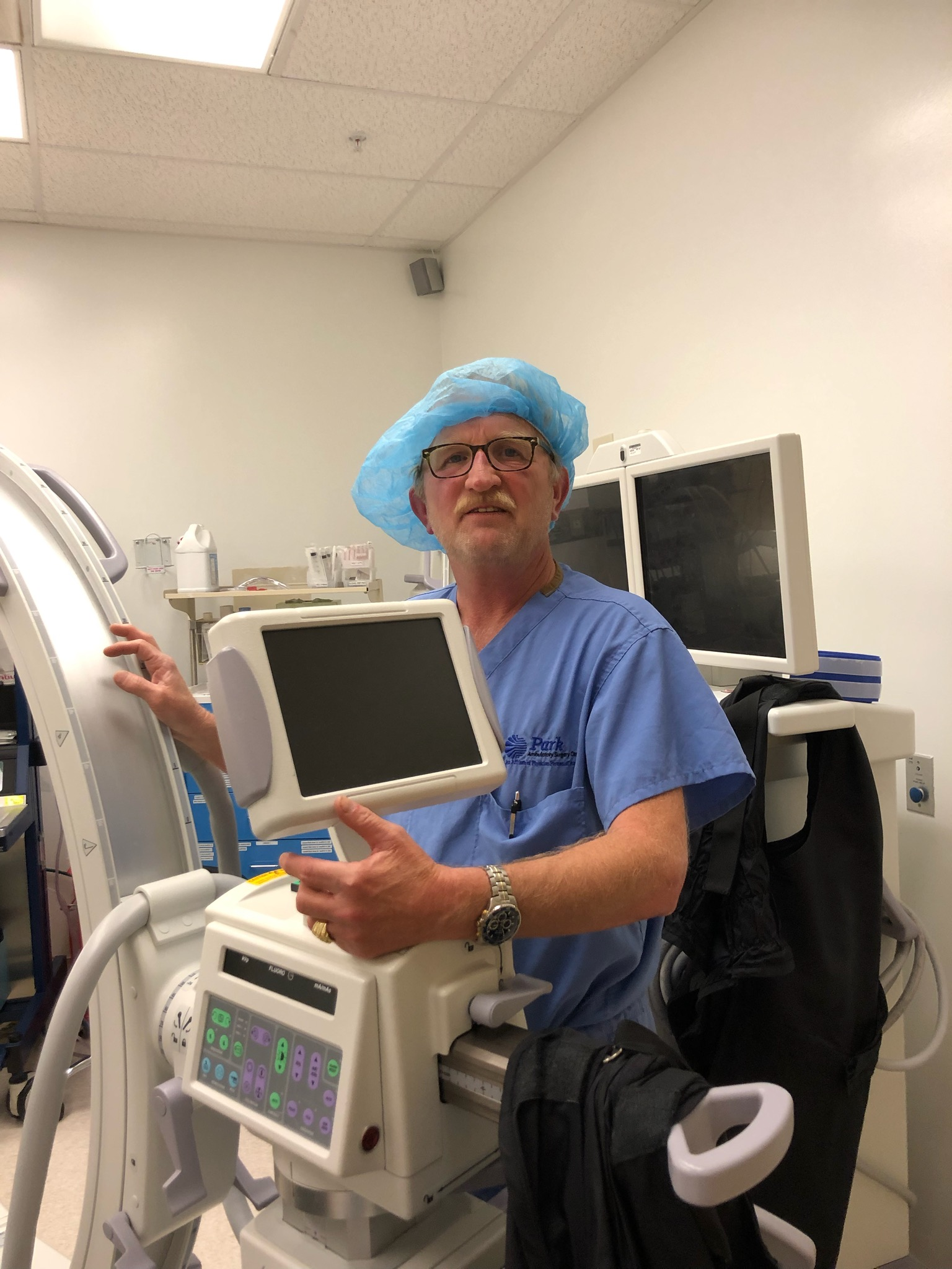 Ken Stroud, certified radiology technologist, PPOA Park Ambulatory Surgery Center