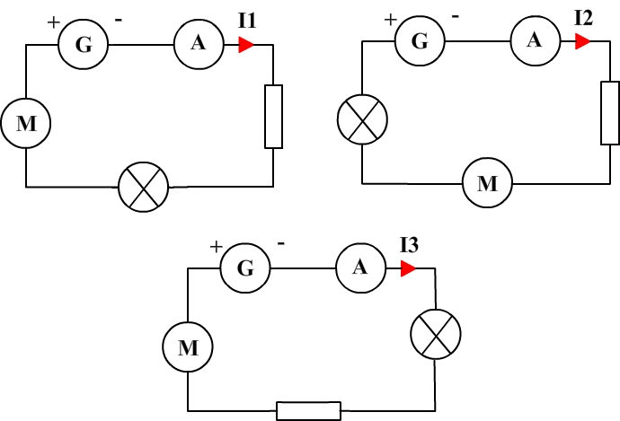 Current law in series circuits
