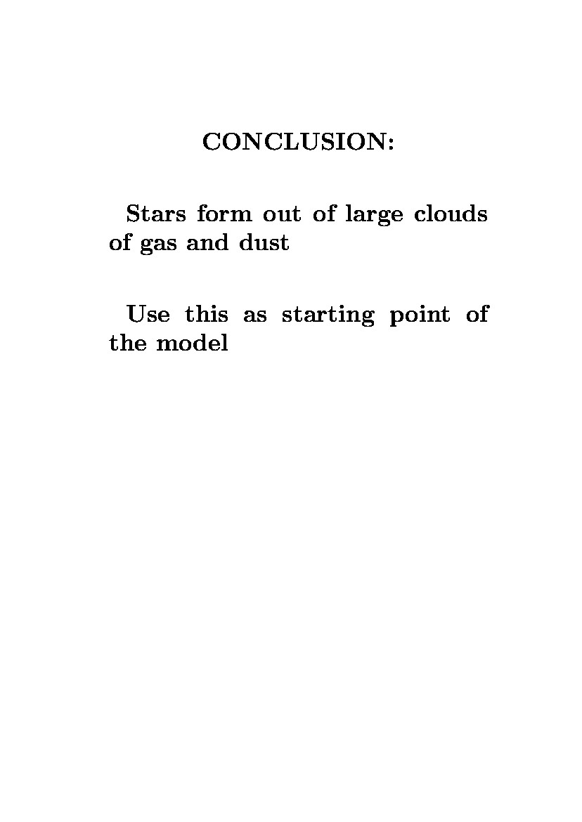 hight resolution of conclusion