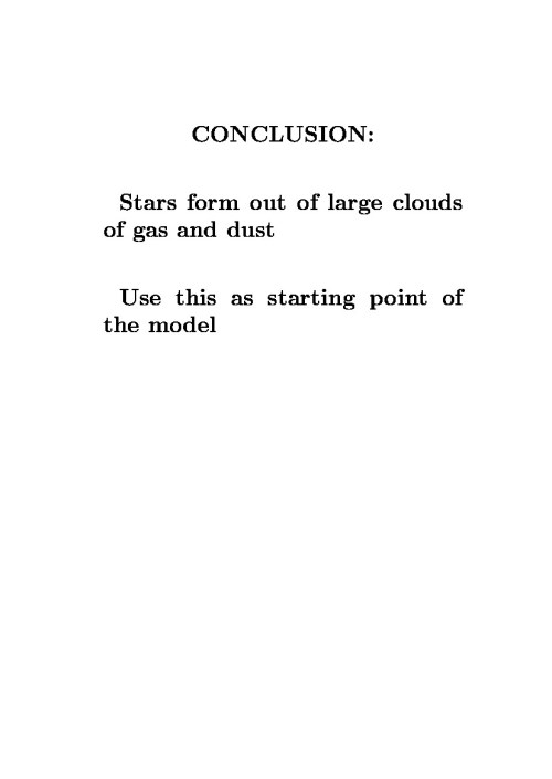 small resolution of conclusion