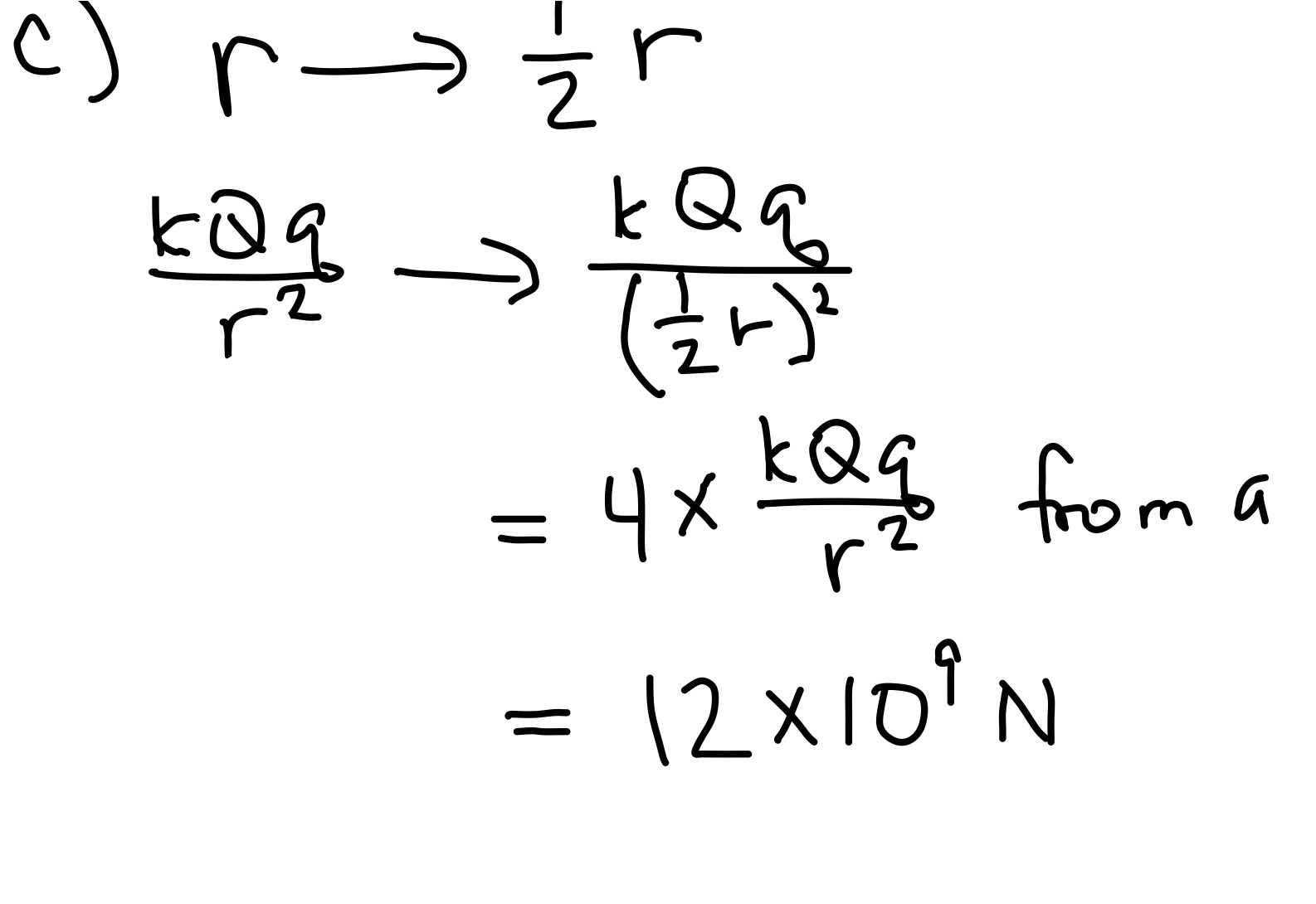 Electrostatics Coulomb S Law For Point Charges And