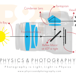Slr Camera Diagram House Light Wiring Single Lens Reflex Physics Photography