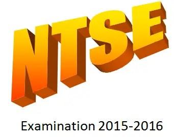 NTSE 2015-2016