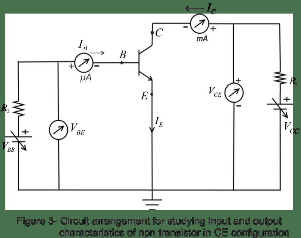 medium resolution of common emitter transistor configuration