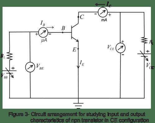 small resolution of common emitter transistor configuration