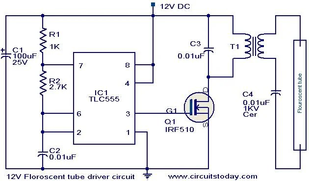 Drive MOSFET With 555