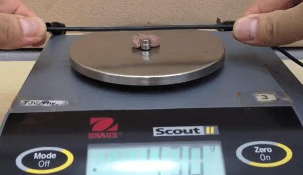 Measuring the Force on a Current-Carrying Conductor