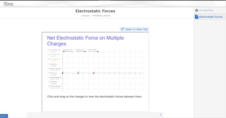 Embedding GeoGebra Apps into SLS