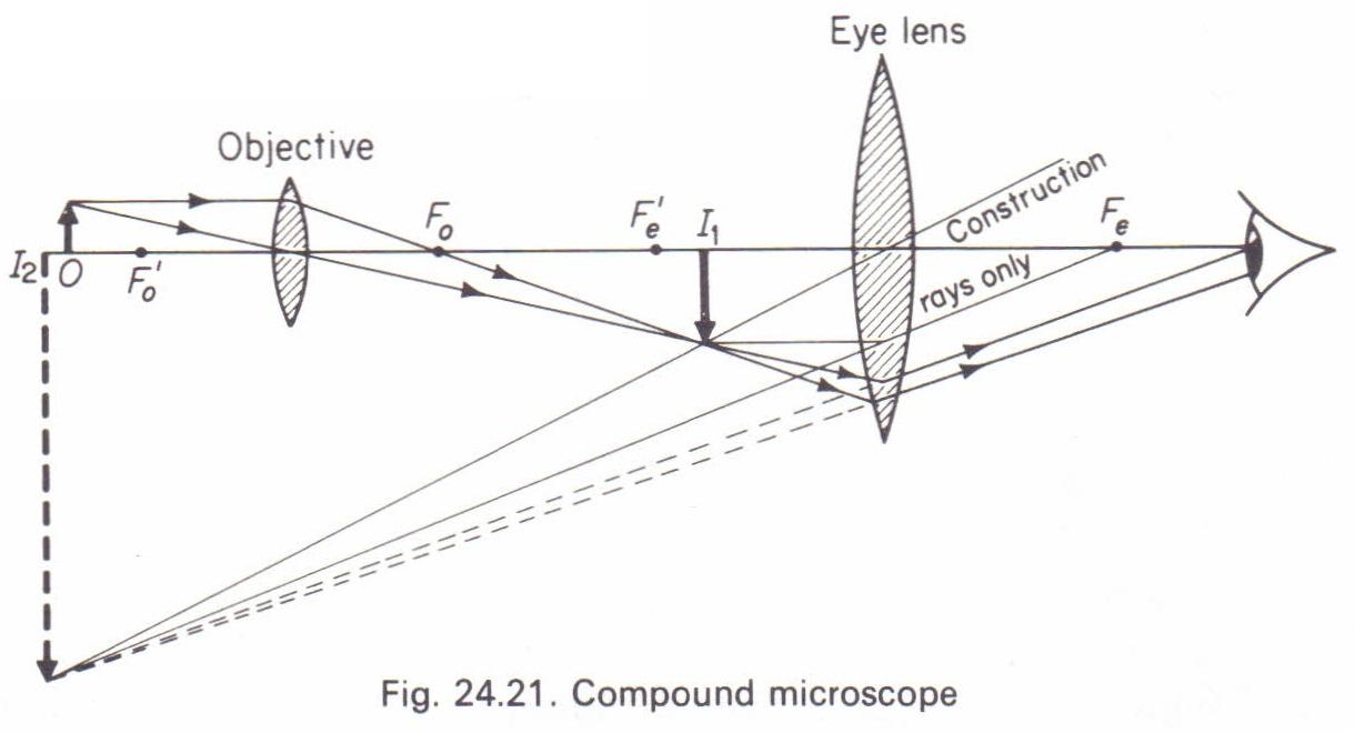 The compound microscope Physics Homework Help, Physics