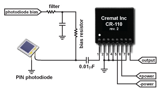 Photodiode Alarm Circuit