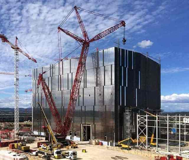Delayed The Iter Fusion Reactor Is Being Built In Southern France