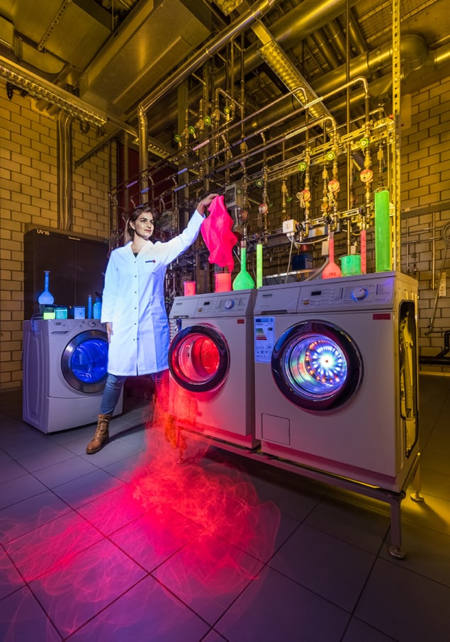 what happens to nanoparticles in textiles during real-world use