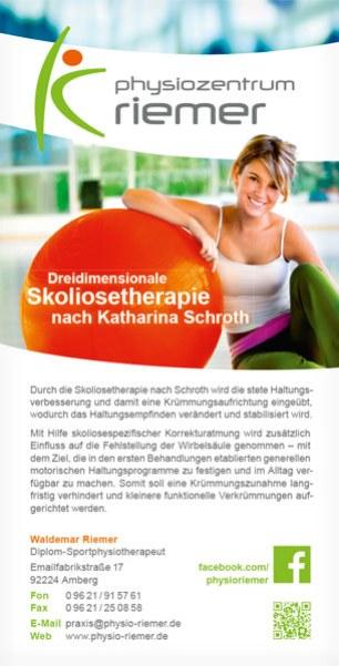 Physio Riemer Schroth-Flyer