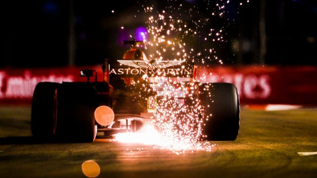 F1 is heating up