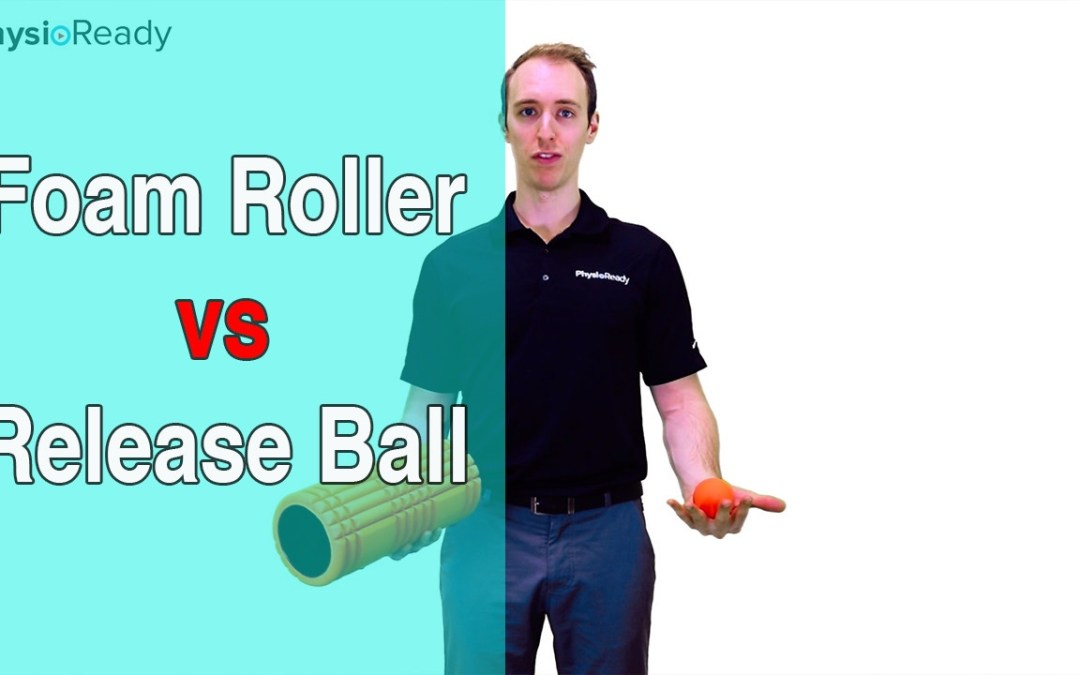 The Difference Between a Foam Roller and a Release Ball