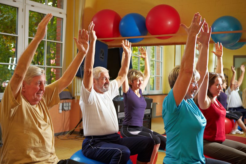 Beneficios del ejercicio en la tercera edad a nivel cardiovascular