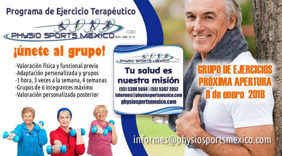 Programa de Ejercicio Fisioterapéutico para Adultos Mayores