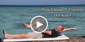 Bauchmuskel Training im Physioteam ( Der Käfer )