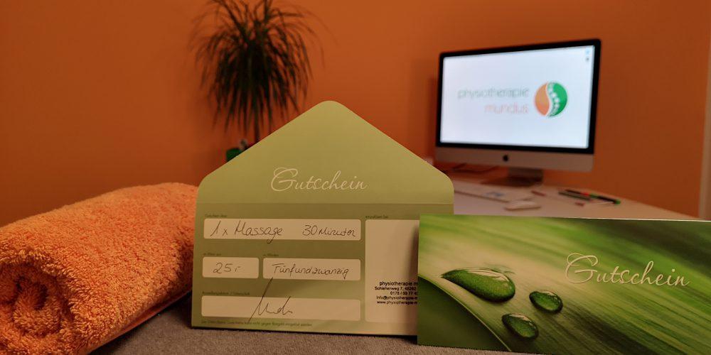 Aktionsgutschein für Massage in Emsdetten.