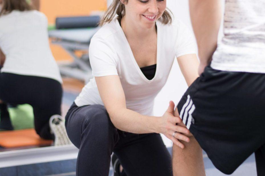 Physiotherapie bzw. Krankengymnastik (KG)