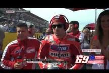 physiotherapist Alfredo Dente and Nicky Hayden, Ducati