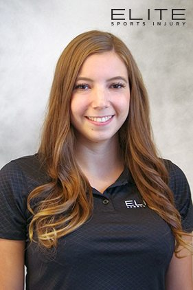 Justine Chartrand at Elite Sports Injury Physiotherapy, Massage Therapy Winnipeg
