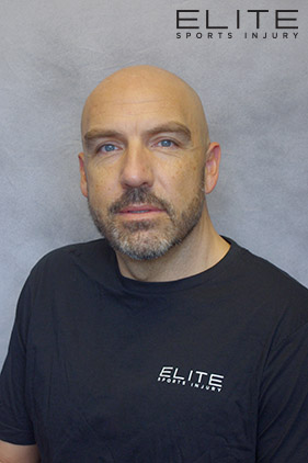 Rob Dreger at Elite Sports Injury Physiotherapy, Massage Therapy Winnipeg