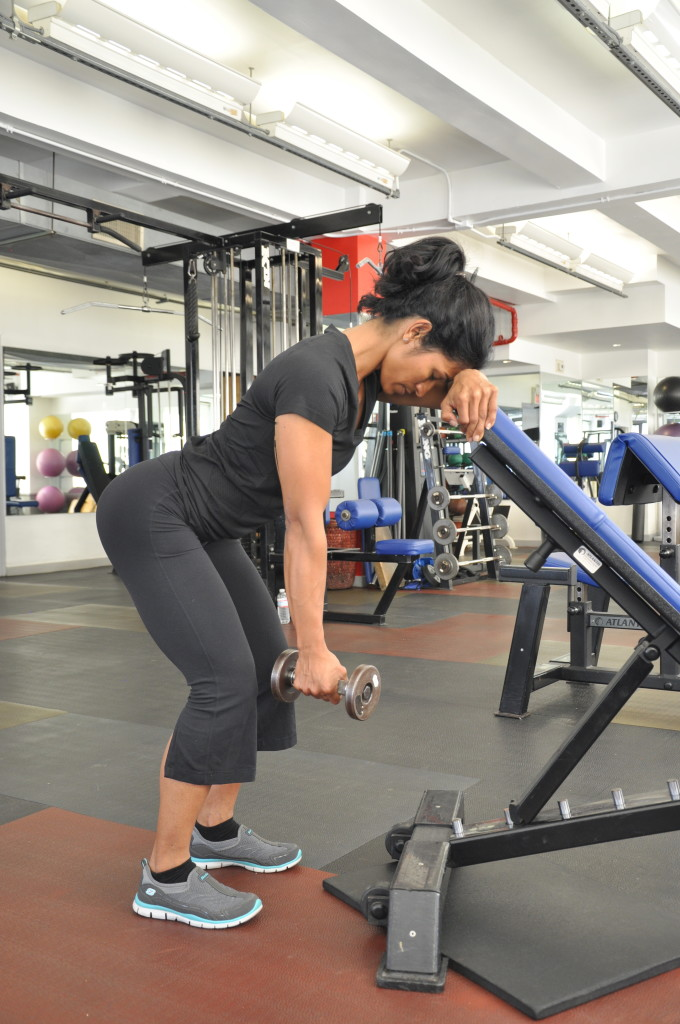 One Arm 45 Degree Incline Dumbbell Trap 3 Lift Physiqology